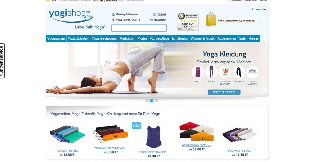 Yogashops